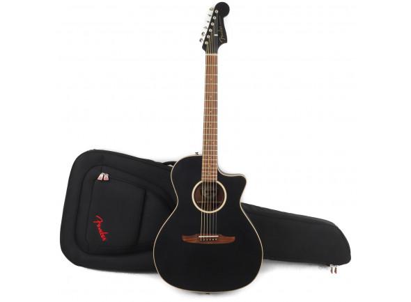 Outras guitarras acústicas Fender  Newporter Special MBK w/Bag