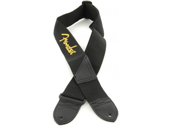 Correia de nylon Fender Nylonstrap With Yellow Logo
