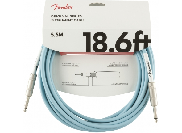 Fender Original Cable DB Jack 5,5m