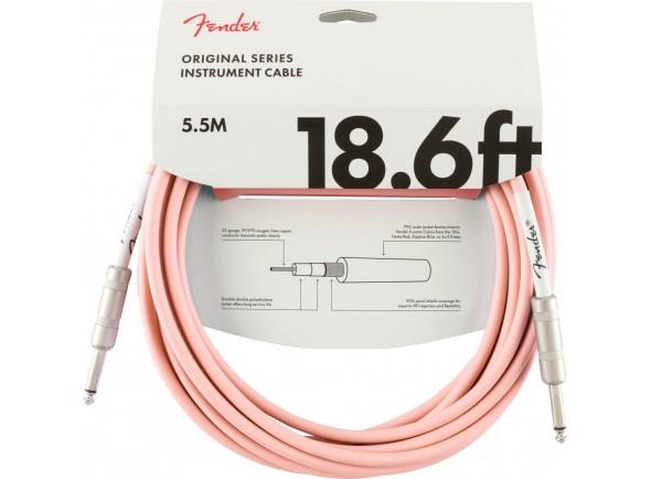 Adaptadores e conversores Fender Original Series Instrument Cable 5,5m Shell Pink