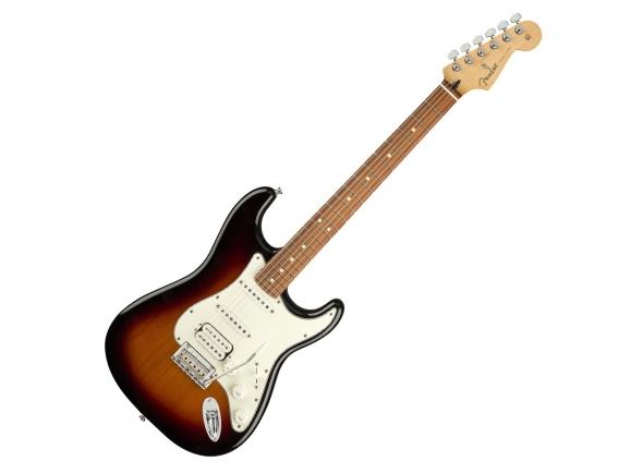Guitarras formato ST Fender Player Strat HSS PF 3TS