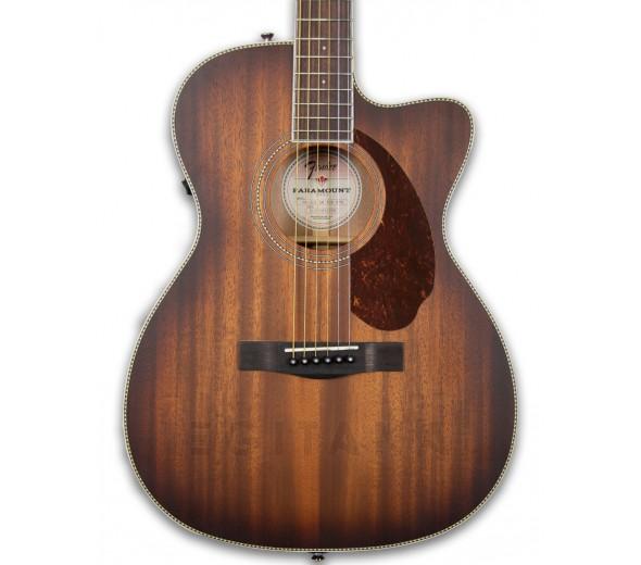 Outras guitarras acústicas Fender PM-3CE Triple-O MAH ACB OV