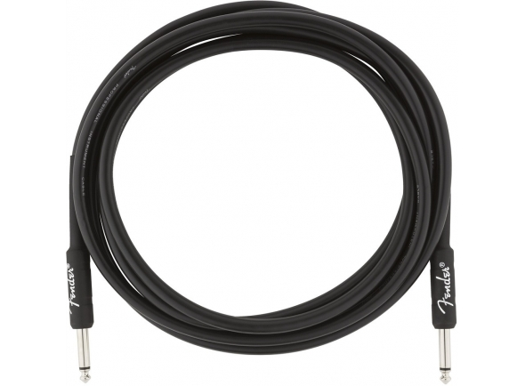 Fender Professional Cable Black Jack 3m