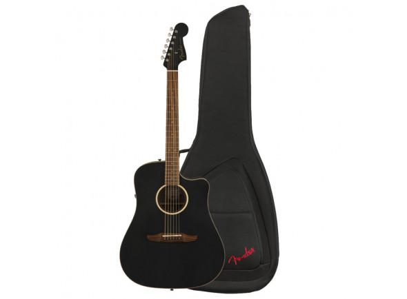 Outras guitarras acústicas Fender  Redondo Special MBK w/Bag