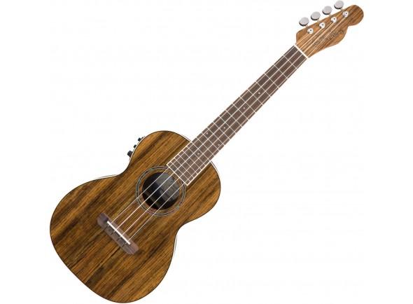 Ukulele Electrificados Fender Rincon Tenor Ukulele V2 OV Natural