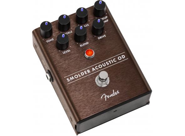 Efeitos para guitarra acústica Fender Smolder Acoustic OD