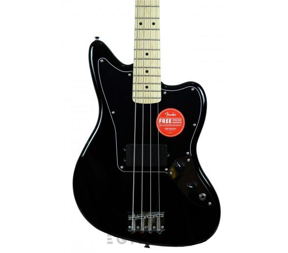 Baixo de 4 Cordas Fender SQ Aff. Jaguar Bass MN H BK