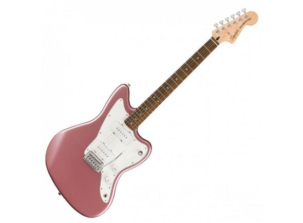Outros formatos Fender  SQ Aff. Jazzmaster Burg. Mist