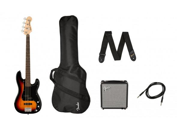 Pack's de Baixo Elétrico Fender  SQ Aff. P Bass PJ PACK 3-SB