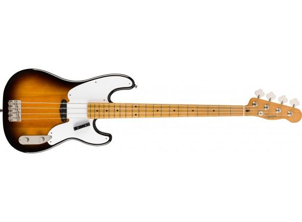 Baixo de 4 Cordas Fender SQ CV 50s P Bass MN 2SB