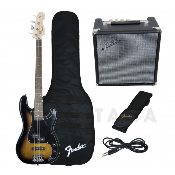 Fender Squier Affinity PJ Bass Pack Brown Sunburst