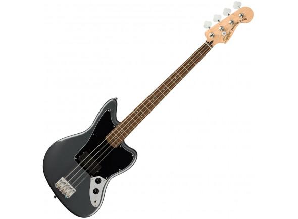 Baixo de 4 Cordas Fender  Squier Affinity Series Jaguar Bass Charcoal Frost Metallic