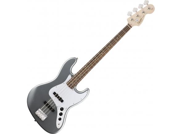 Baixo de 4 Cordas Fender Squier Affinity Series Jazz Bass LR Slick Silver