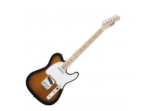 """Fender Squier Affinity Tele MN 2TS B-Stock  Guitarra Eléctrica Fender Squier Affinity Telecaster MN 2TS. Corpo: Alder; Acabamento: Polyurethane. Braço: Maple; Formato: Modern """"C"""". Escala: Maple 25.5"""" (64.8 cm); Raio: 9.5"""" (24.1 cm); Pente: 1.650"""" (42 mm) em Osso Sintético."""