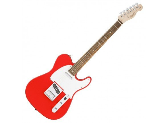 Guitarras formato T Fender Squier Affinity Tele Race Red