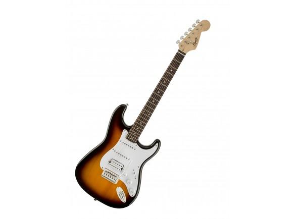 Fender Squier Bullet Strat HSS RW BSB  Guitarra Eléctrica ST Fender Squier Strat Bullet HSS RW Brown Sunburst