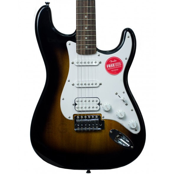 Fender Squier Bullet Strat with Tremolo HSS IL Brown Sunburst