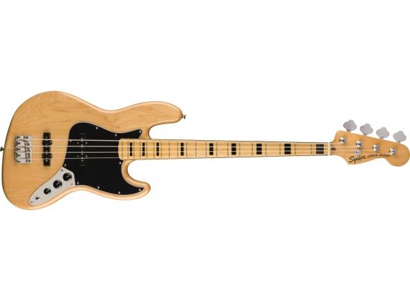 Baixo de 4 Cordas Fender squier CV 70s Jazz Bass MN NAT