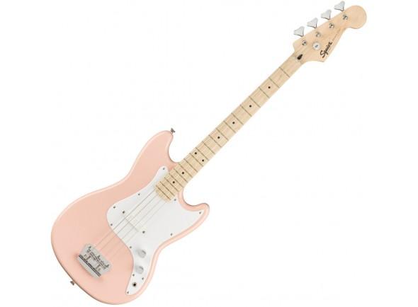 Baixo de 4 Cordas Fender Squier FSR Bronco Bass MN Shell Pink