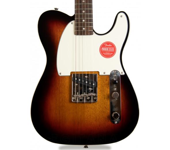 Guitarras formato T Fender  Squier FSR Classic Vibe 60s Custom Esquire LRL PPG 3-Tone Sunburst