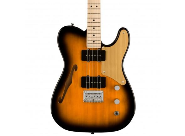 Guitarras formato T Fender  Squier Paranormal Cabronita Thinline 2 Tone Sunburst