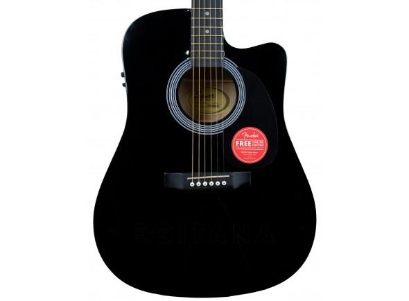 Guitarras Dreadnought Fender Squier SA-105CE Black B-Stock