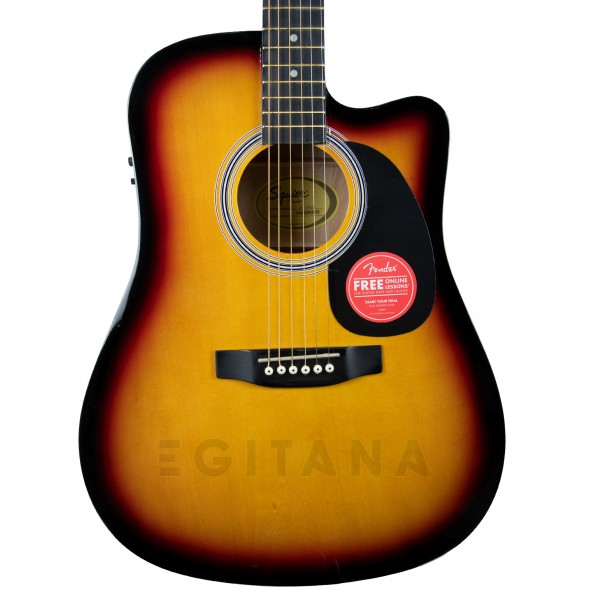 Fender Squier SA-105CE Sunburst