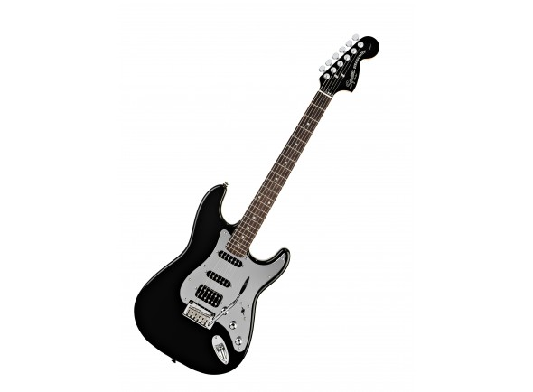 Fender Squier Standard Fat Strat Special Ed Black Mirror