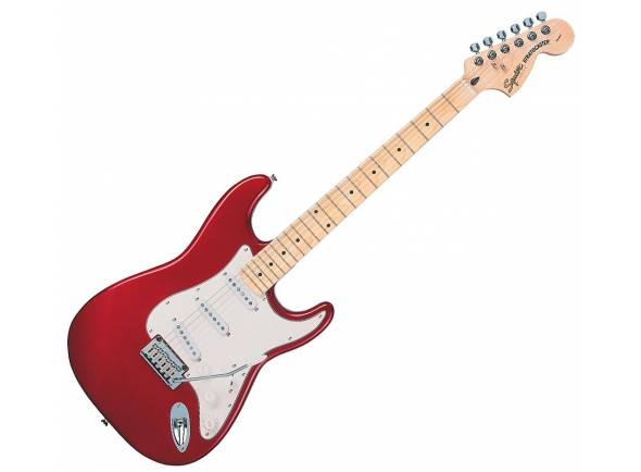 Fender Squier Standard Stratocaster MN CAR   Guitarra elétrica com forma de corpo Stratocaster da série Standard que é um ótimo instrumento com uma vibração tradicional e uma sensação moderna.
