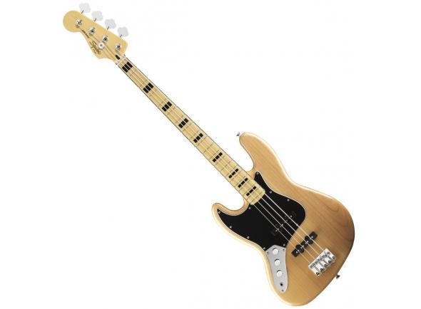 Baixo Eléctrico para Esquerdinos Fender Squier Vin.MOD.Jazz NT LH
