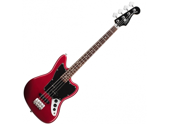 Fender Squier Vintage Modified Jaguar Bass Special SS IL Candy Apple Red