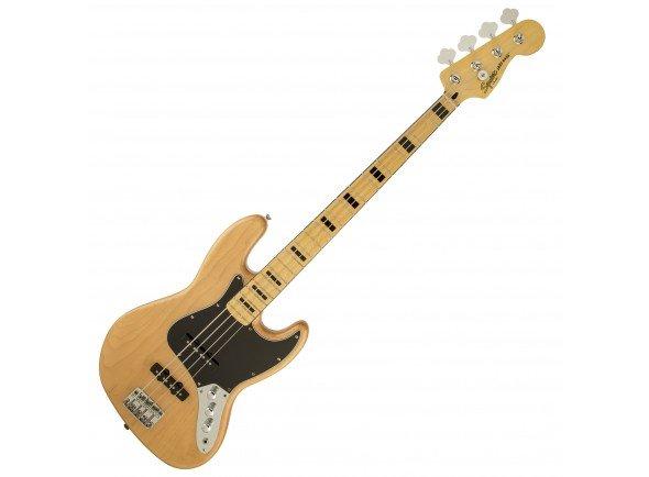 Fender Squier VM Modified Jazz 70 NT   Corpo: Soft Maple  Acabamento: Natural Gloss  Braço: Hard Maple