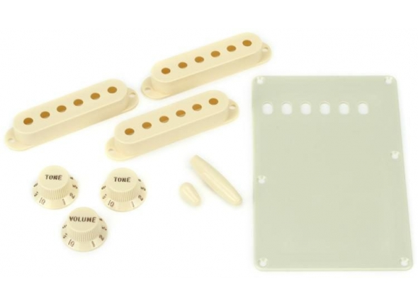 Fender Strat Accessory Kit Aged White