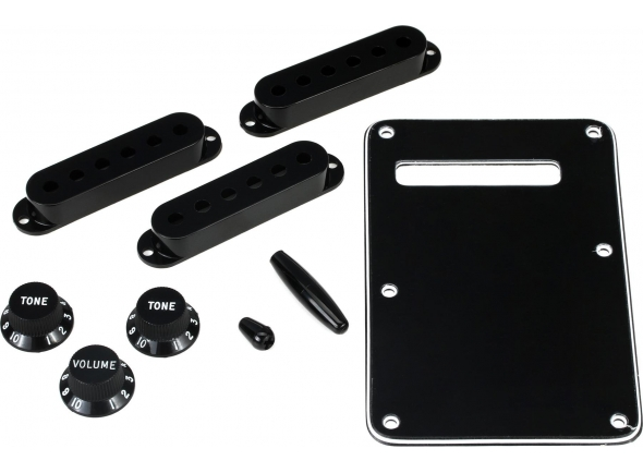 Capas para pick-ups Fender Strat Accessory Kit Black