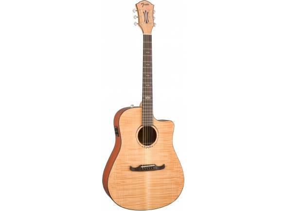 Guitarra Acústica Fender T-Bucket 400CE FLM MPL