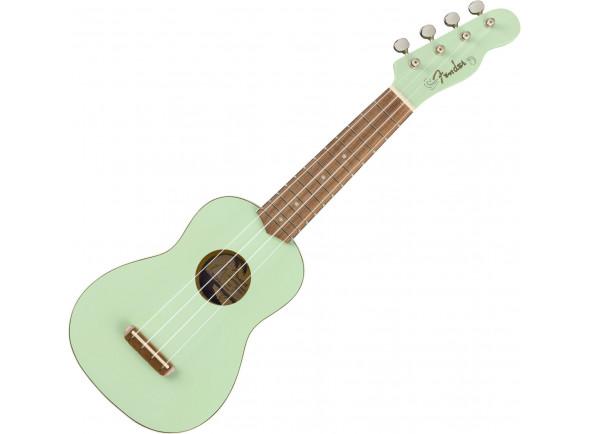 Ukulele Soprano Fender  Venice Soprano Ukulele Verde Surf Green