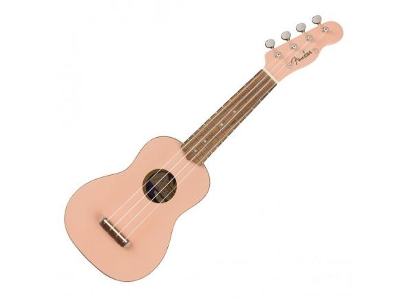 Ukulele Soprano Fender Venice Soprano Ukulele Walnut Fingerboard