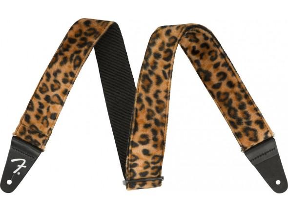 """Correia de nylon Fender Wild Leopard Print Strap 2"""""""