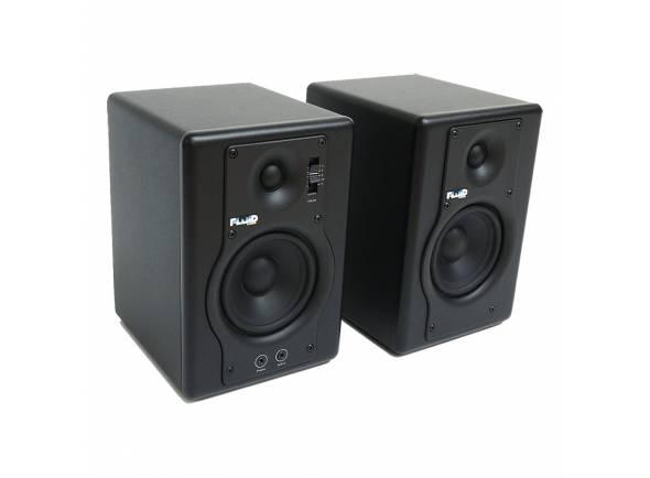 Monitores de estúdio activos Fluid Audio F4