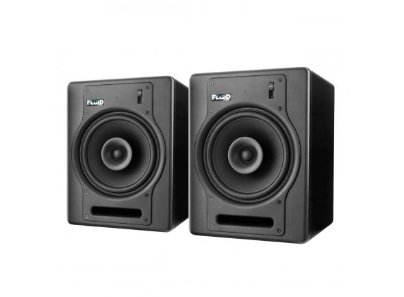 Fluid Audio FX8 B-Stock  Par Monitores Estúdio Amplificados Fluid Audio FX8