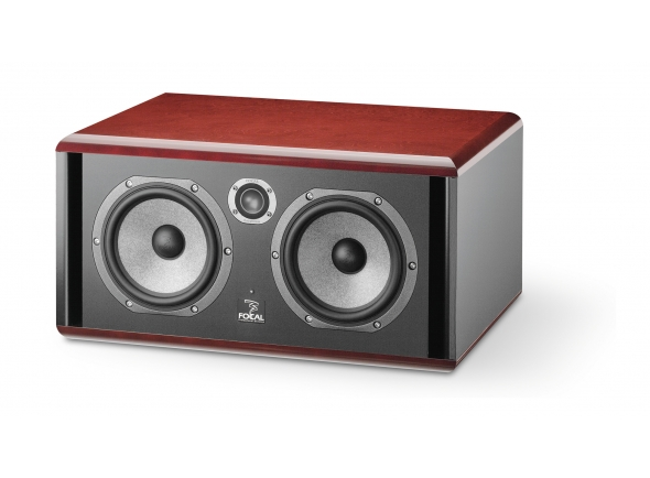 Monitor de estúdio Focal Twin 6 Be Red Burr Ash