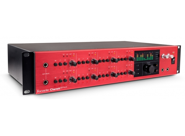 Interfaces de áudio Thunderbolt Focusrite Clarett 8PreX