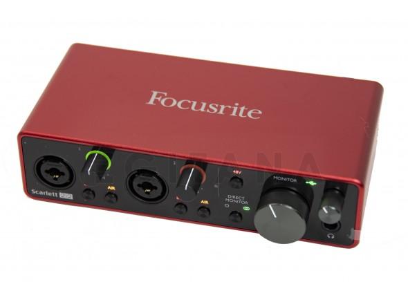 Interface Áudio USB Focusrite Scarlett 2i2 3rd Gen B-Stock