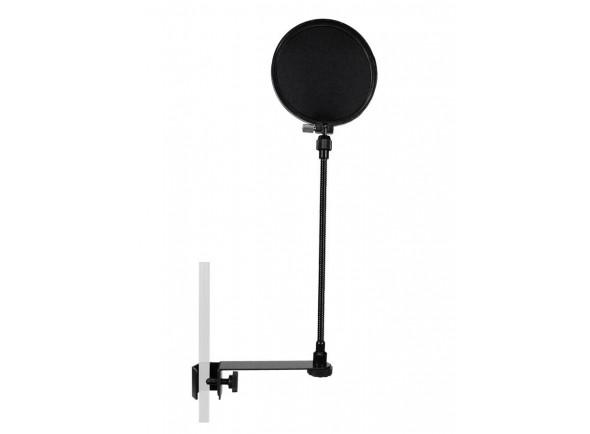 Protecção de vento para microfone Gatt Audio popscreen gooseneck