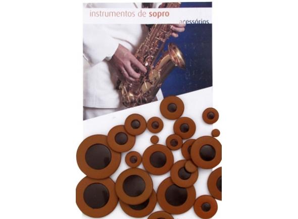 Gewa  Jogo de Sapatilhas para Saxofone Alto  730762