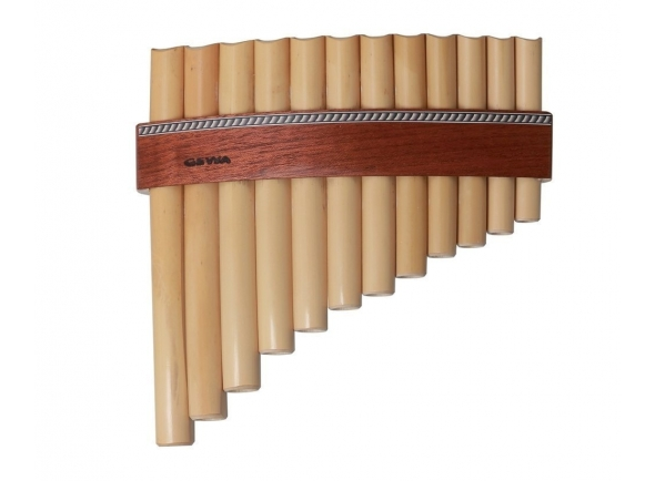 Flauta de PAN Gewa Panpipes C- Major 12 Pipes
