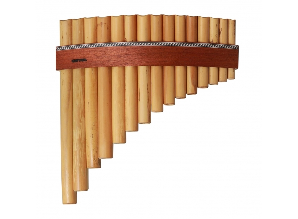 Flauta de PAN Gewa Panpipes C- Major 20 Pipes