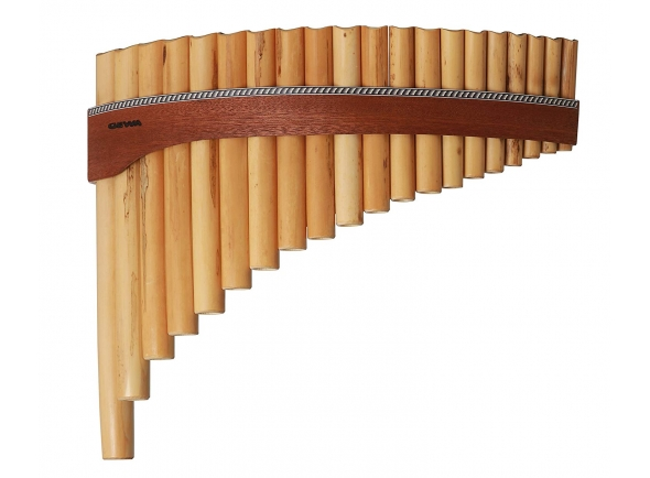 Flauta de PAN Gewa Panpipes G-Major 18 Pipes