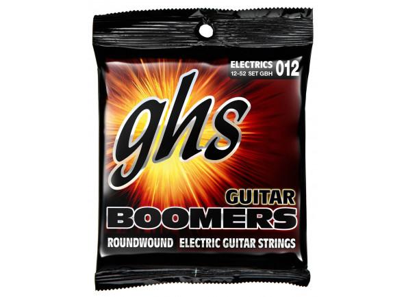 Jogo de cordas .012 GHS  Boomers Roundwound Heavy, .012 - .052