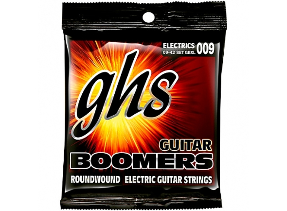 Jogo de cordas .009 GHS GBXL-Boomers